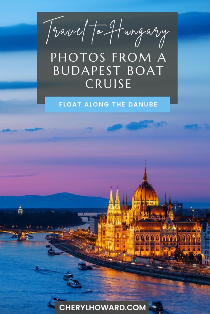 Budapest Boat Cruise - Pin