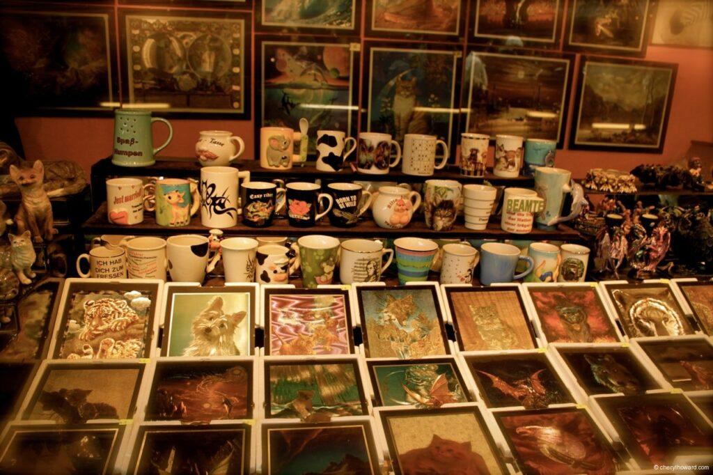 Cat Themed Souvenirs Vienna