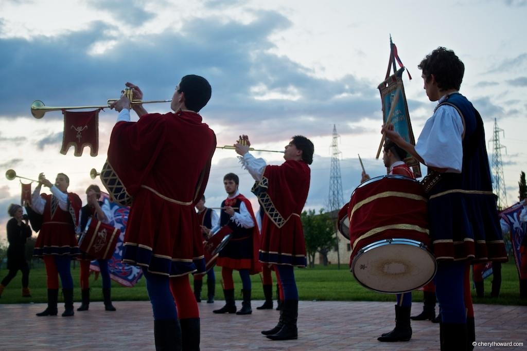 Compagnia Sbandieratori e Musici di Città della Pieve Drummers