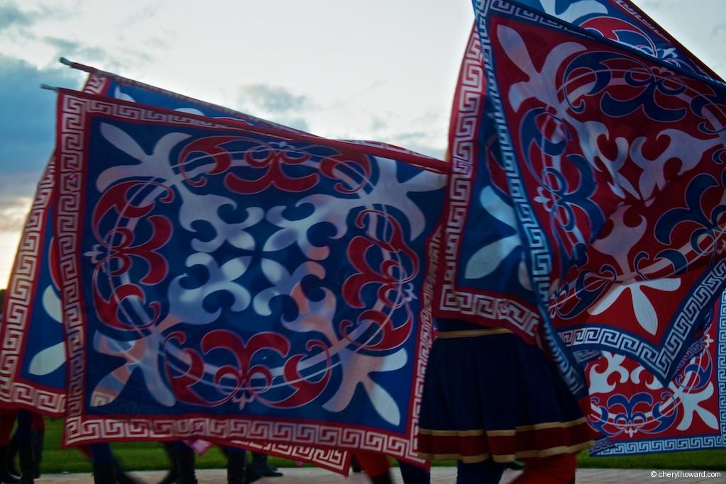 Compagnia Sbandieratori e Musici di Città della Pieve Flags