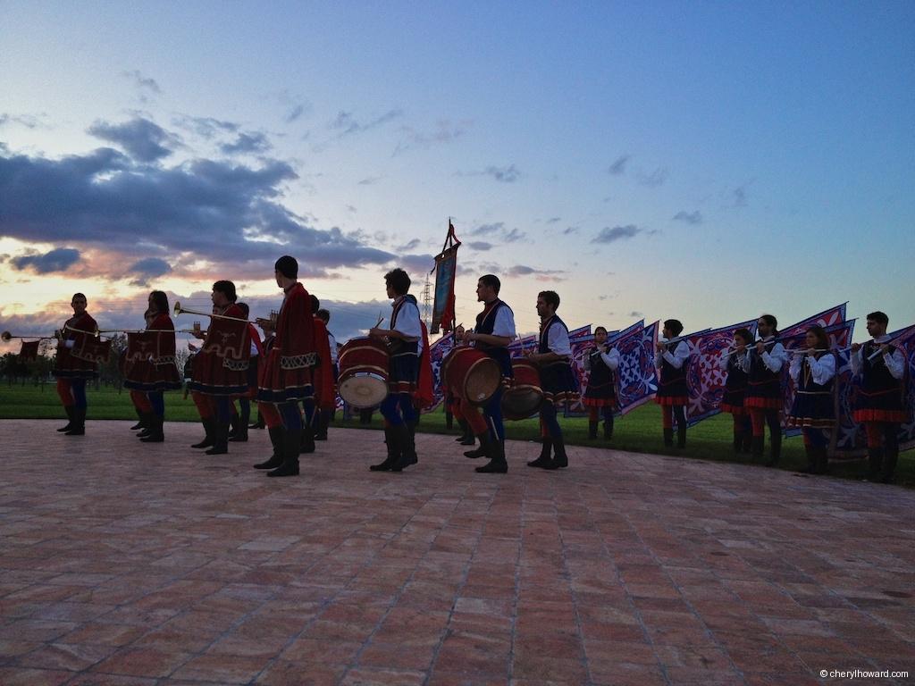 Compagnia Sbandieratori e Musici di Città della Pieve Performance