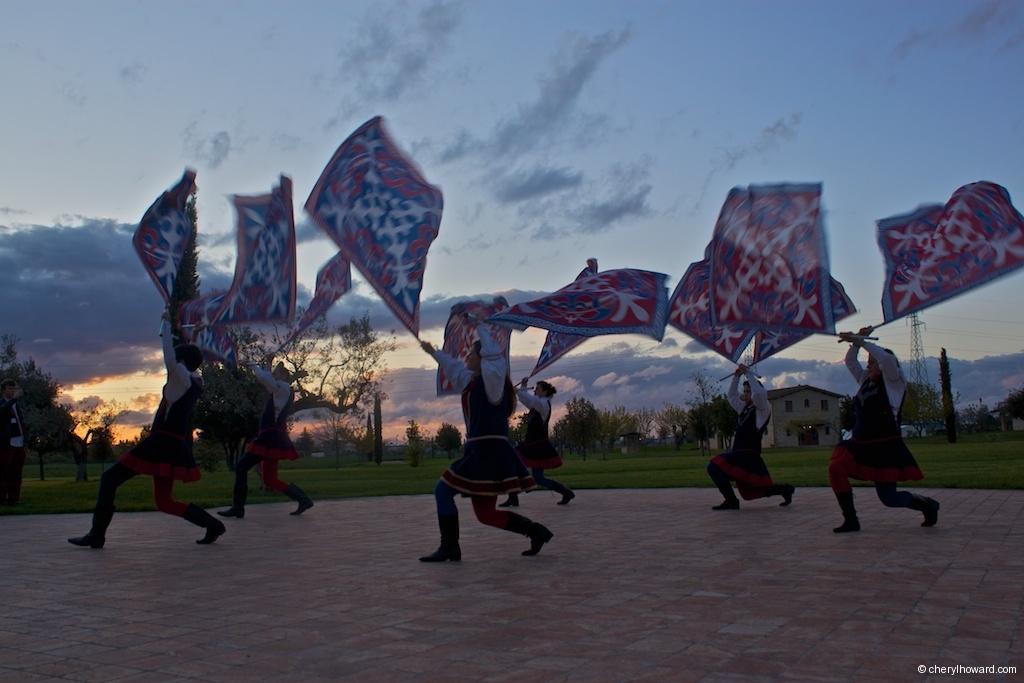 Compagnia Sbandieratori e Musici di Città della Pieve Sunset