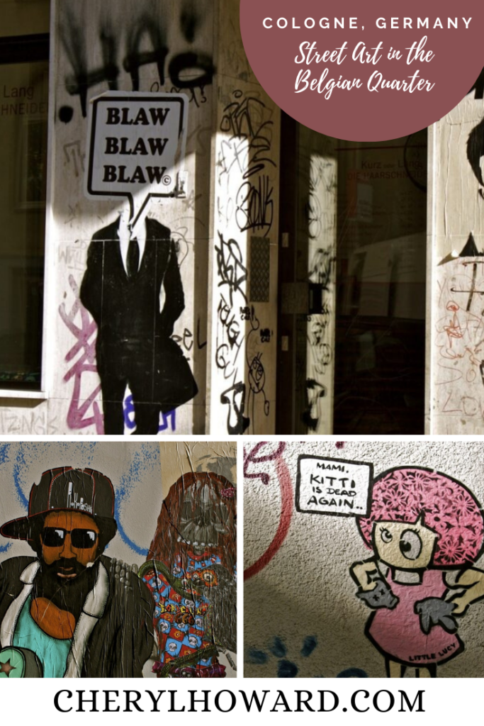 Street Art In Cologne - Pin