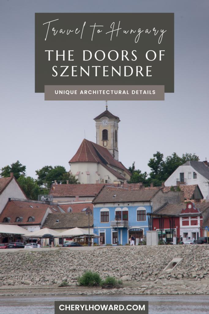 The Doors Of Szentendre - Pin