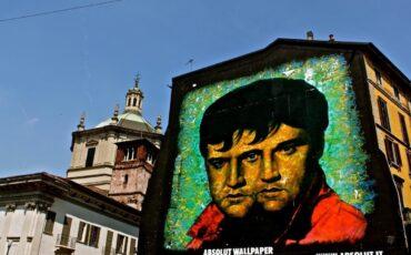Weird Things In Milan Mural