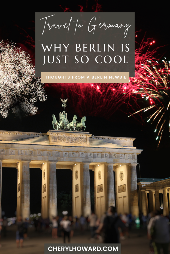 Why Berlin Is So Cool - Pin