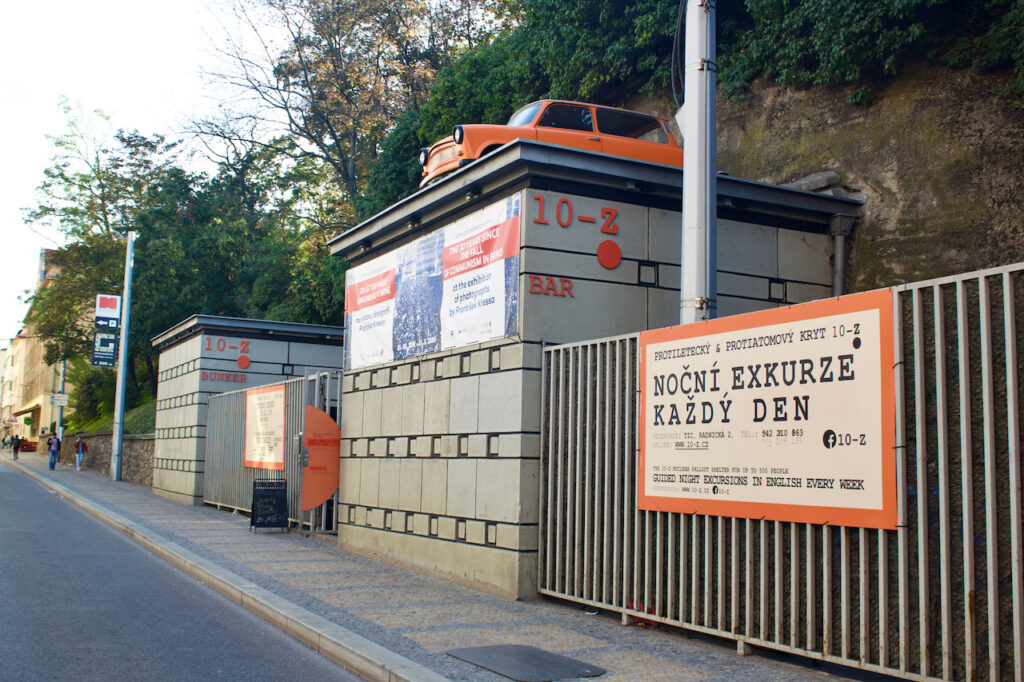 10-Z Nuclear Shelter In Brno Czechia